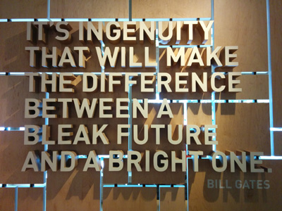Ingenuity Bill Gates Foundation