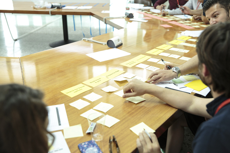 Workshop on Product Journey Maps and MVPs