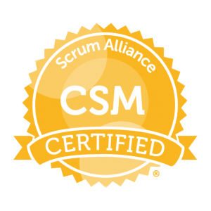 Certified Scrum Master by Scrum Alliance