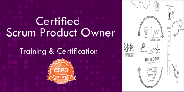 Certified Scrum Product Owner training course banner