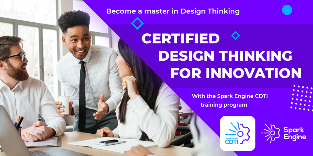 Spark Engine Certified Design Thinking for Innovation - 5D Vision
