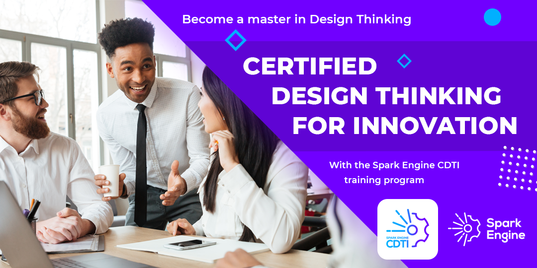 Certified Design Thinking for Innovation training course banner