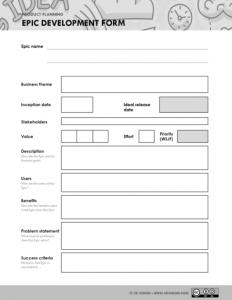 Epic development form - 5D Vision
